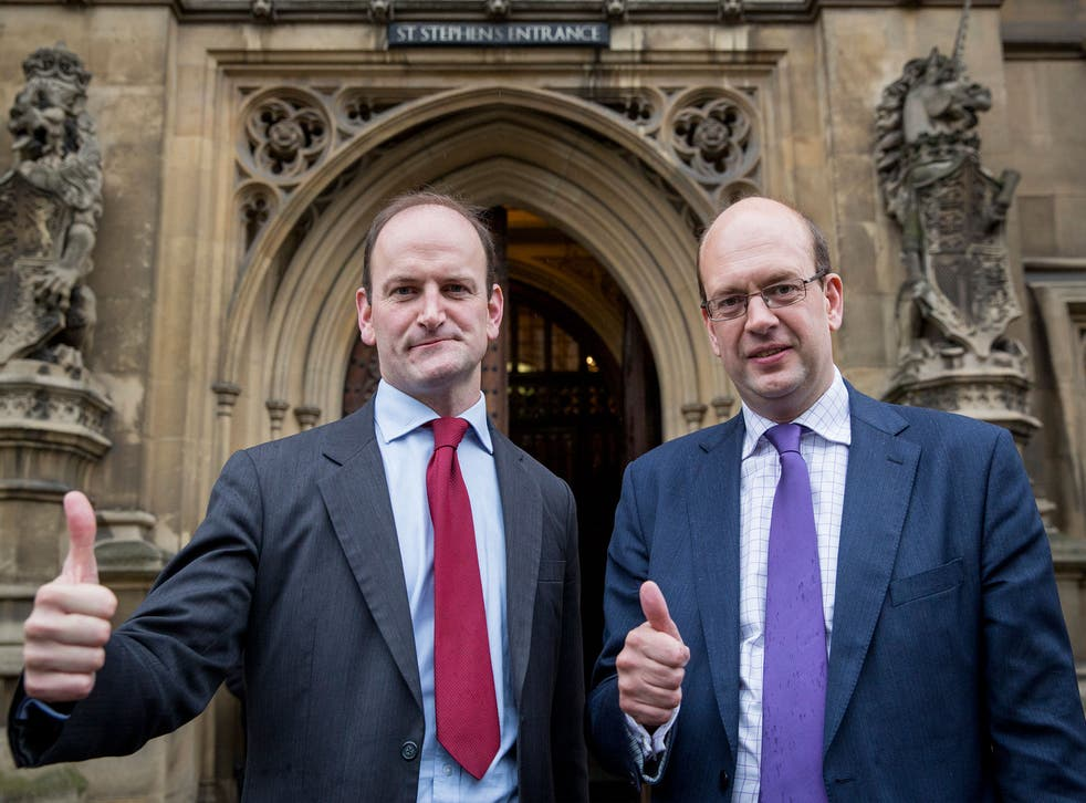 Douglas Carswell (L) and Mark Reckless (R) - two new fresh and exciting faces in Parliament...?