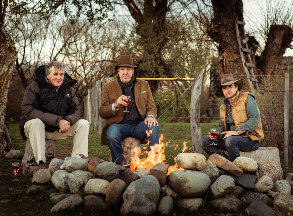 James May, Jeremy Clarkson and Richard Hammond in the Top Gear Patagonia Special