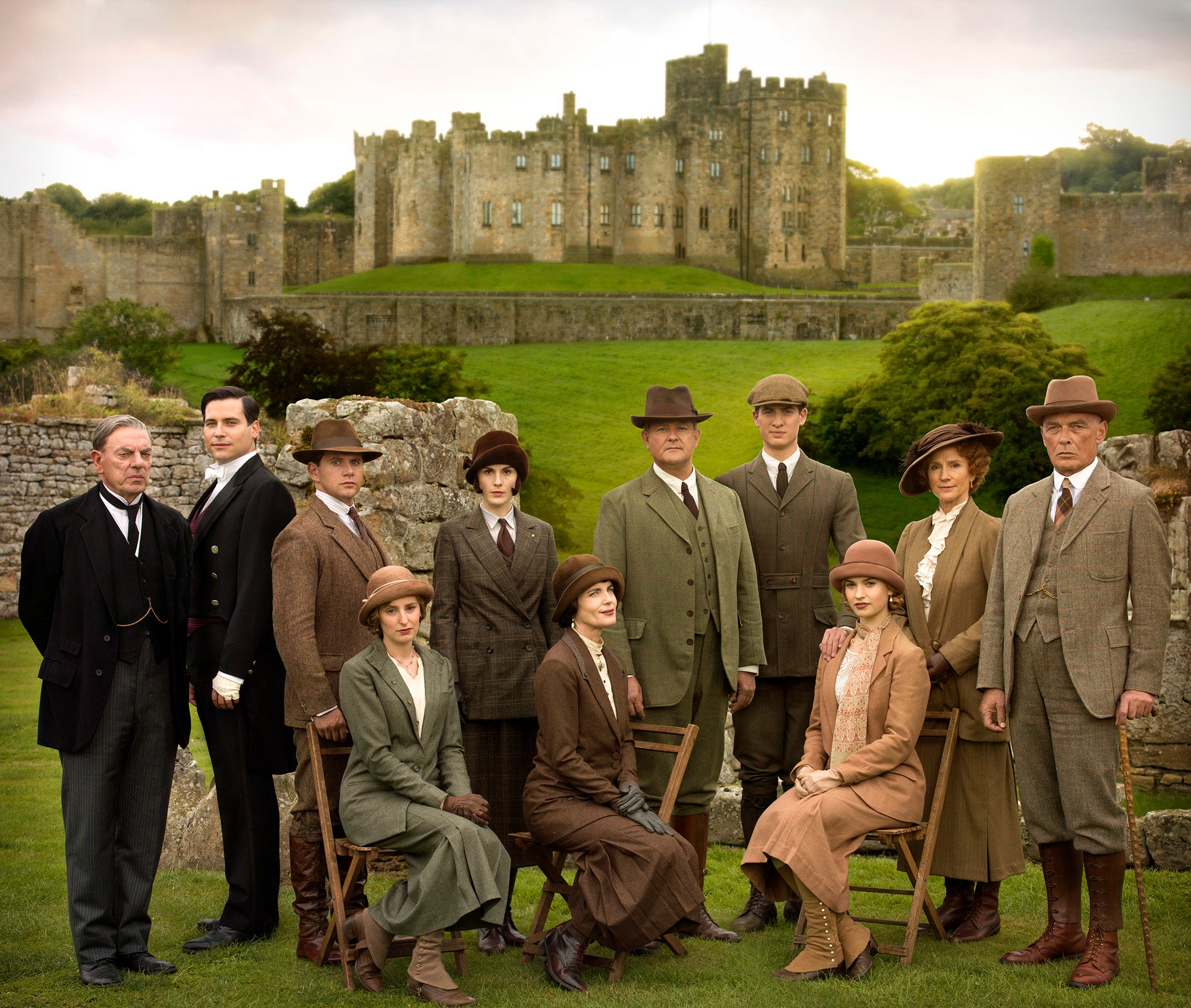 Downton Abbey Christmas Special 2014: Hugh Bonneville ...