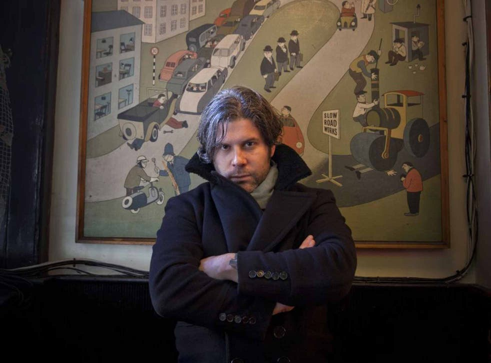 Jacket required: Ed Harcourt
