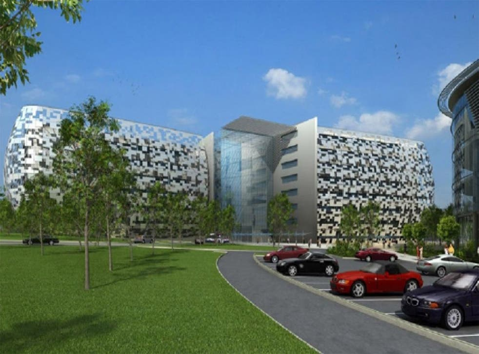 Midland Metropolitan Hospital will cater for more than half a million people