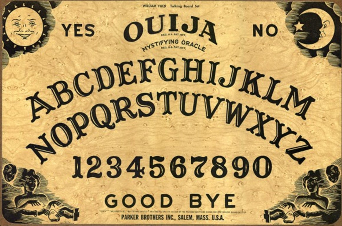 the origin and history of the ouija board Ancient ouija boards: unfortunately, people frequently mistake one for the other, particularly when discussing the history of the talking board.