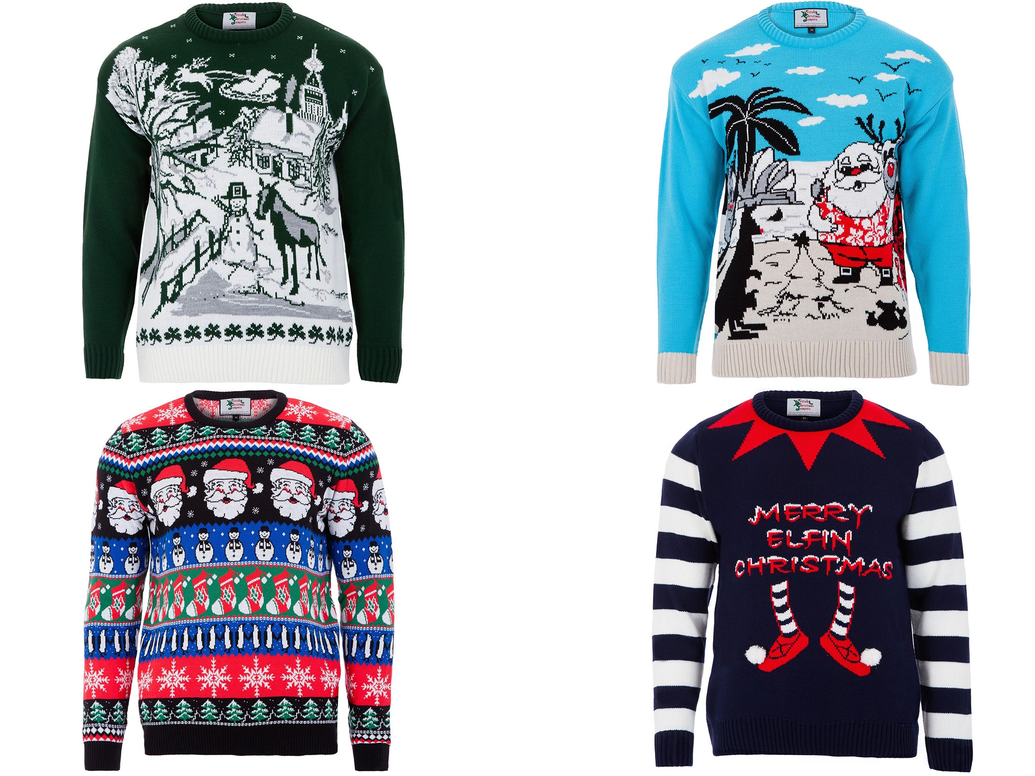 Christmas jumper craze: Inside the UK factory behind this year's ...