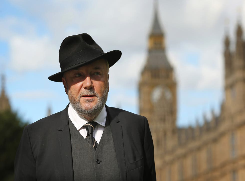 Some Jewish groups have protested against George Galloway appearing on Question Time