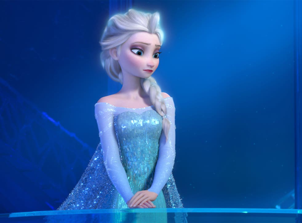 Dolls depicting Frozen characters have been counterfeited