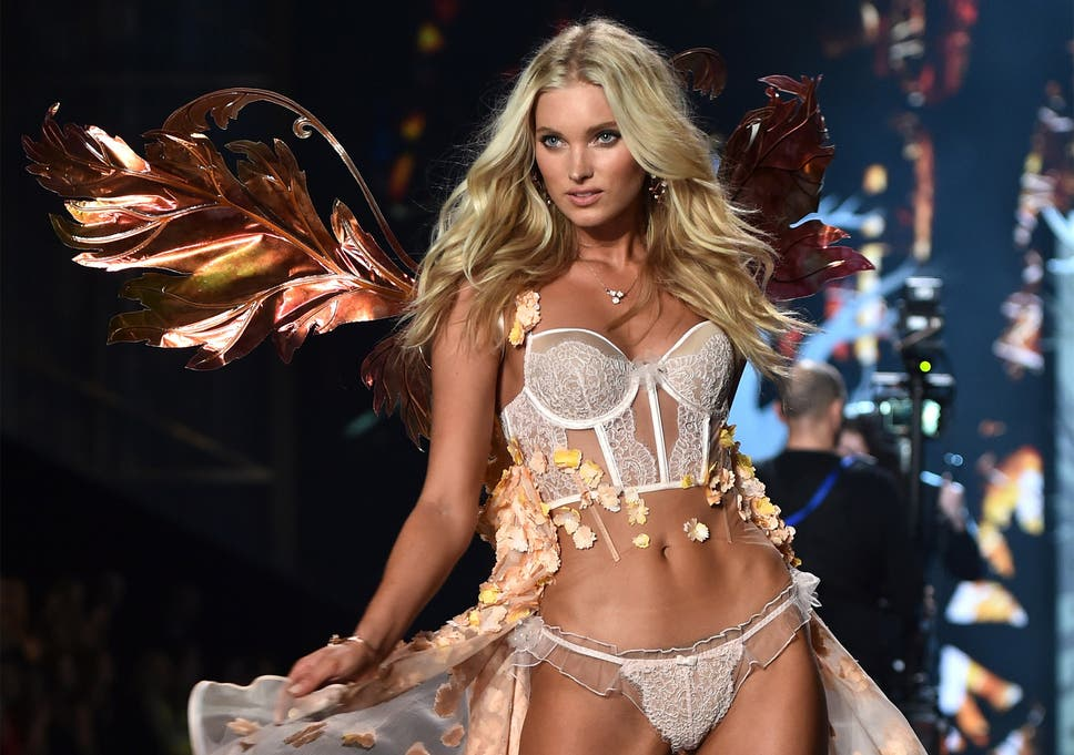 ee77afa0d7 Swedish model Elsa Hosk walks the runway during the 2014 Victoria s Secret  Fashion Show at Earl s