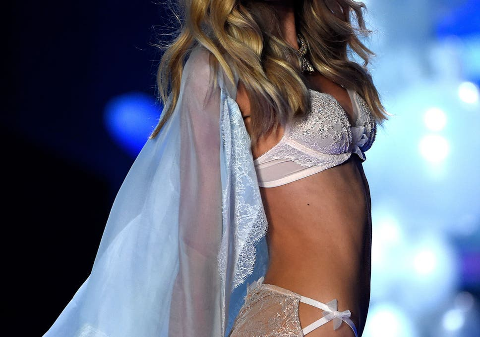 b92eaf3ed4c Victoria's Secret show 2014: Journalist told not to ask question about  feminism. '
