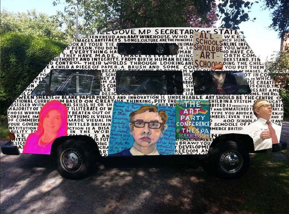 'Party Battle Bus' by Bob and Roberta Smith