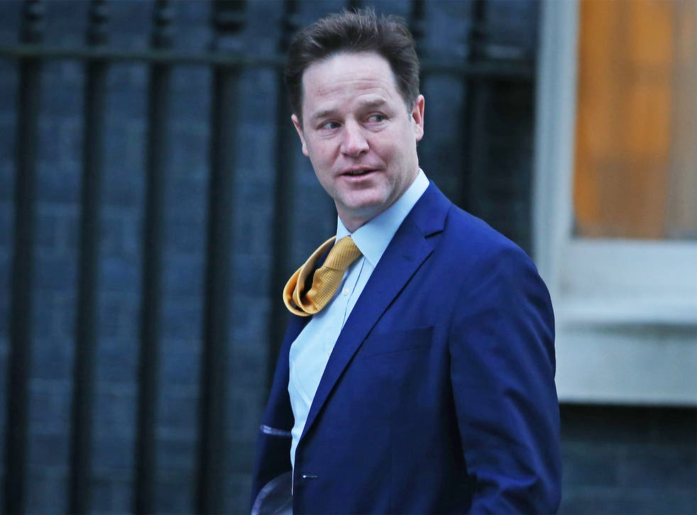 The Lib Dem leader is expected to return to the front bench for Prime Minister's Questions next week