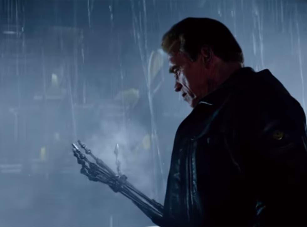 Arnold Schwarzenegger in a teaser clip for Terminator: Genisys