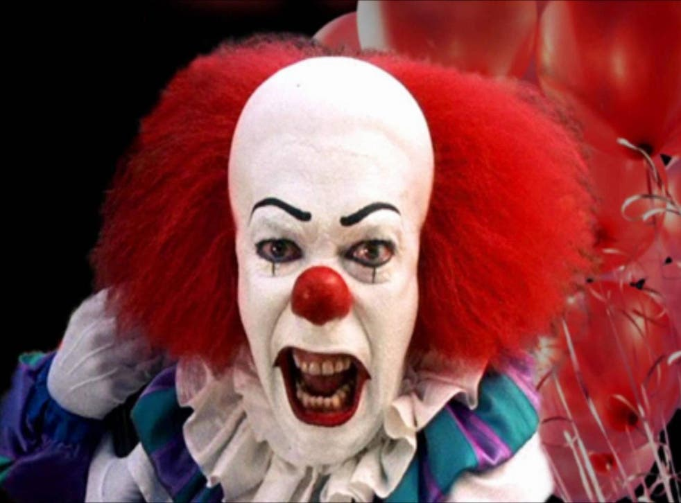 """Pennywise the clown in the ABC """"It"""" TV series"""