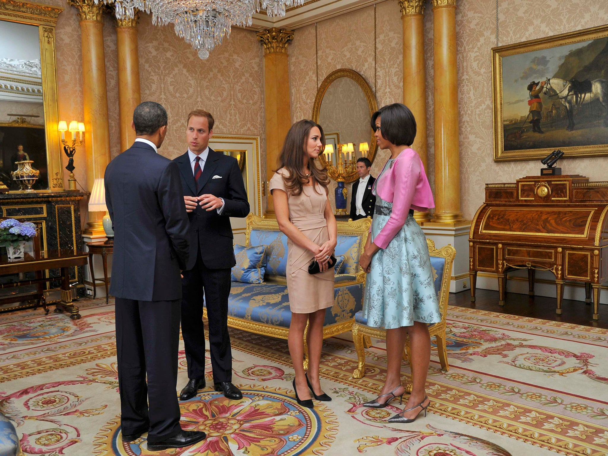 Prince William To Meet Obama In The Oval Office On