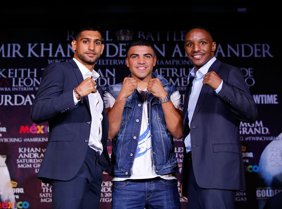 Big time: This will be Amir Khan's first fight at the MGM Grand's main arena