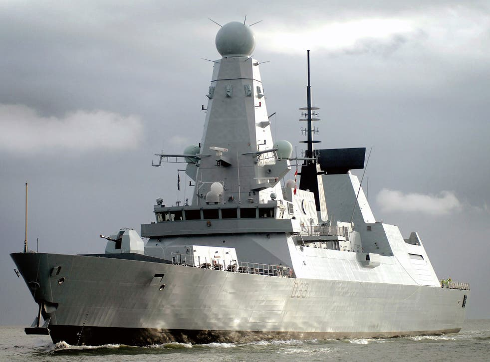 Mina Salman Port will be able to host larger Royal Navy ships such as HMS Dauntless