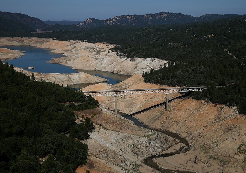 California is suffering its driest spell for at least 1,200 years