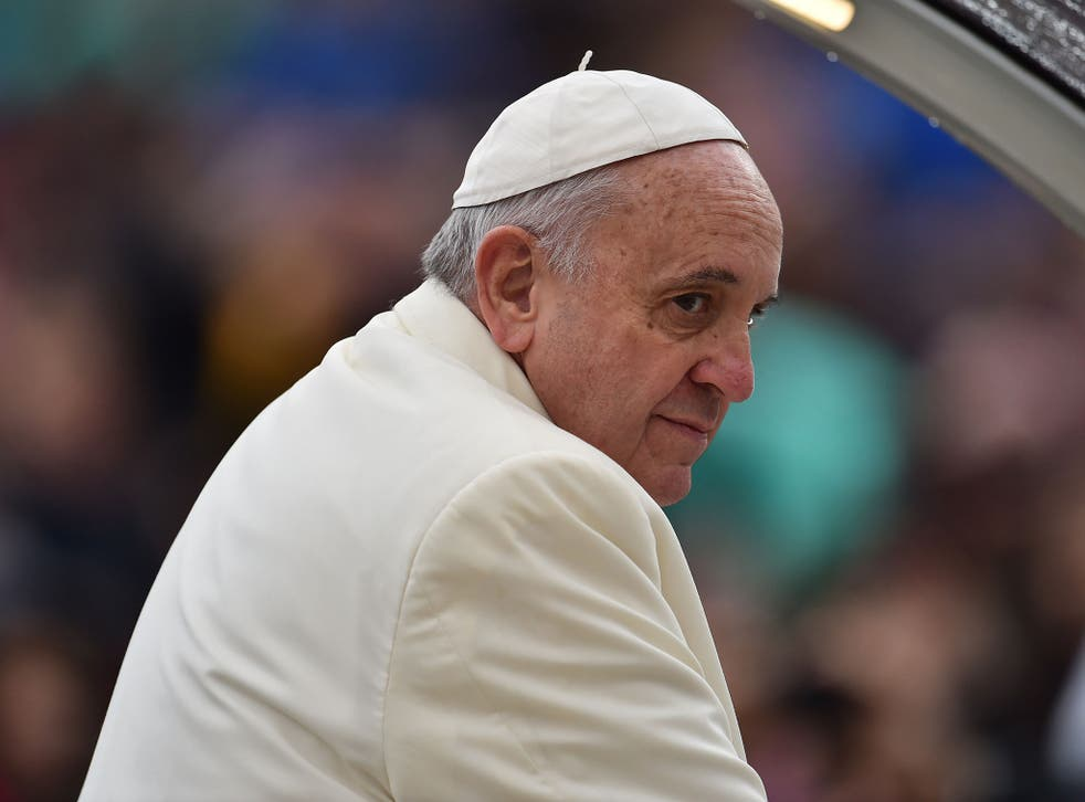 """Pope Francis said """"nobody mentioned homosexual marriage"""" at October's synod"""