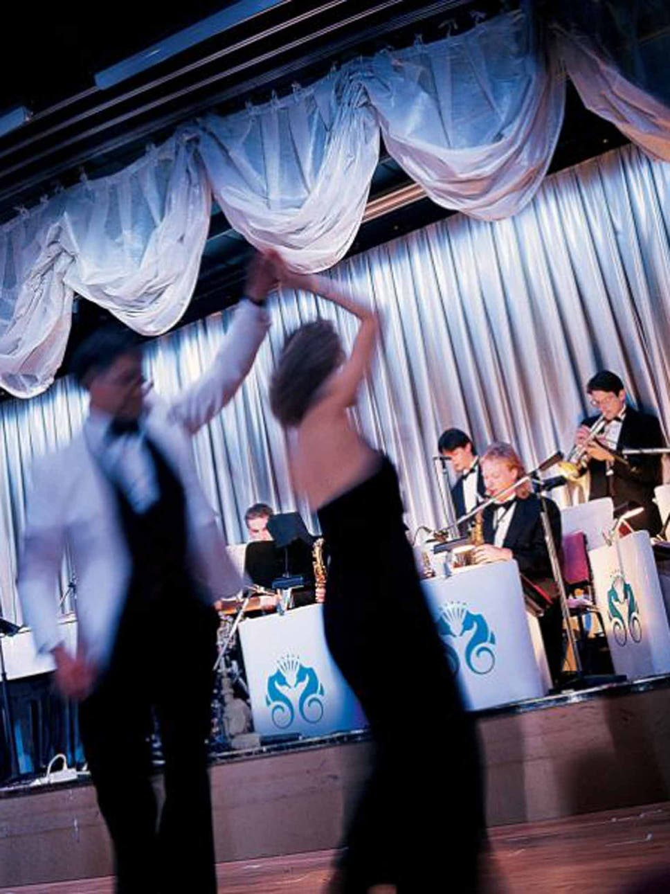Step Ahead Ballroom Dancing On Board A Crystal Cruises Ship