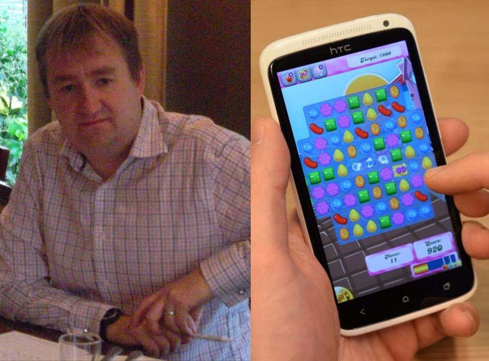 Tory MP Nigel Mills said he would 'try not to' play Candy Crush during Parliamentary committee meetings in the future.