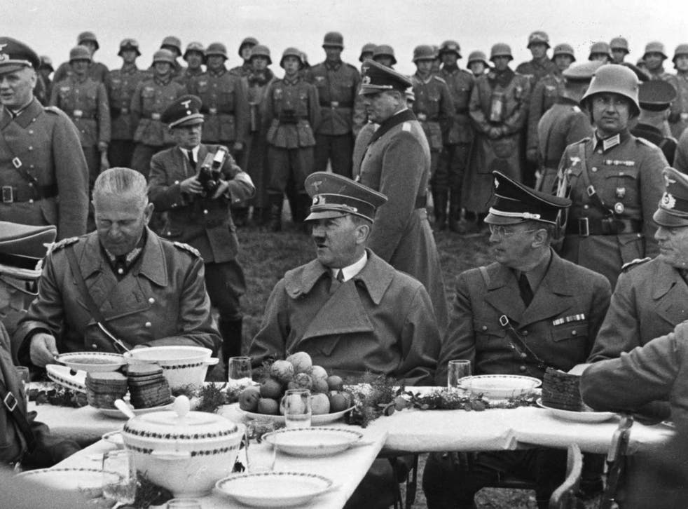 Dictator's dinner: Hitler tailored his diet to cope with his chronic flatulence
