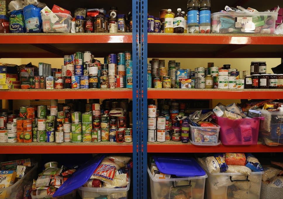 Food Banks What Has Happened To This Country That We Have