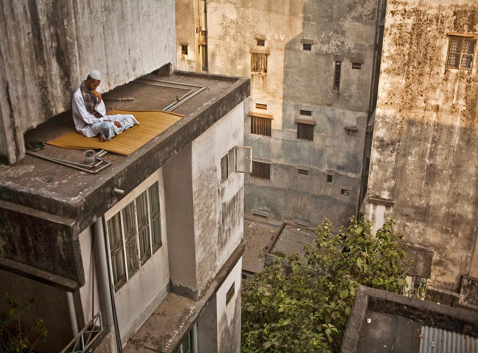 'Getting lost on a roof' by Wahid Adnan