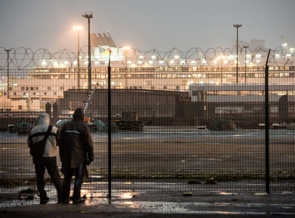 Like many asylum seekers, Ahmed Osman made his way across the Channel from Calais. File photo