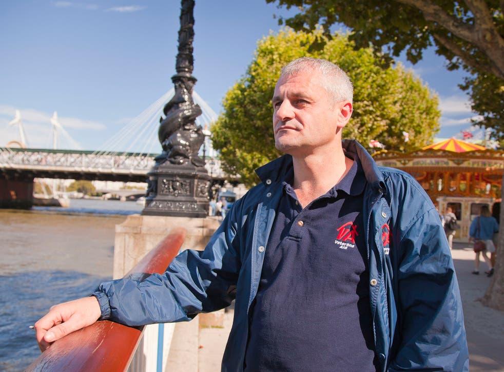 Mark McKillion:  He jumped off Westminster Bridge in utter despair