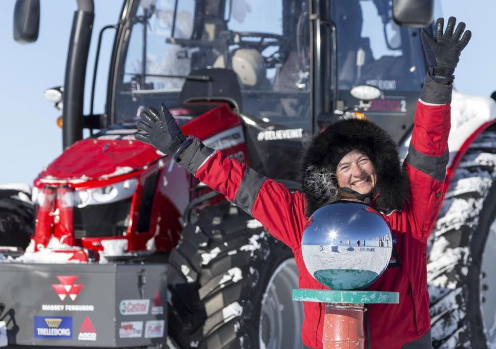 Life in the slow lane: journey to South Pole by tractor fulfils ...