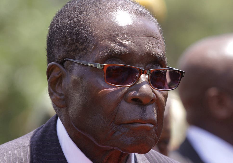 President Mugabe recently said that he will stay in power as long as he has  strength