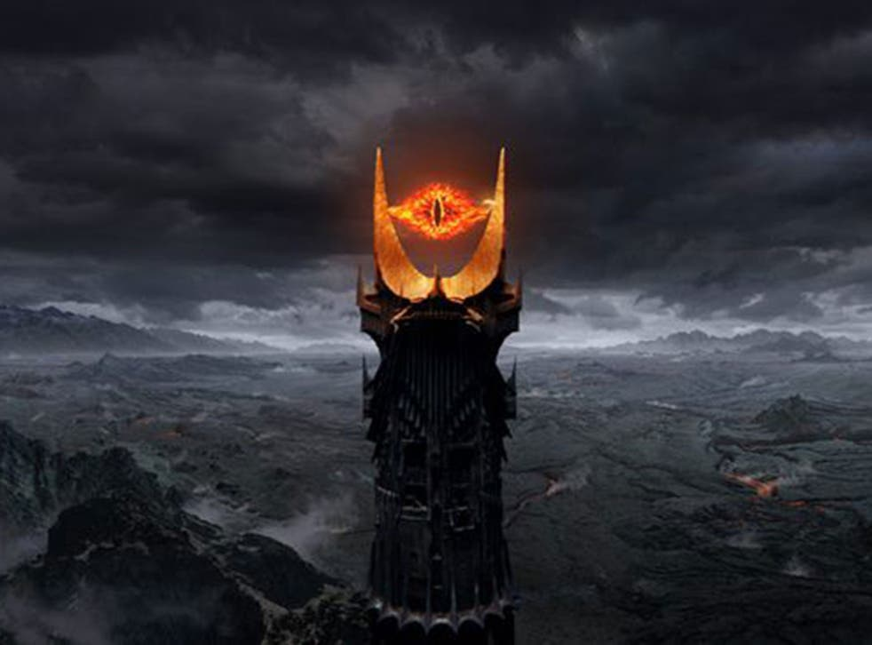 The Eye of Sauron in The Lord of the Rings