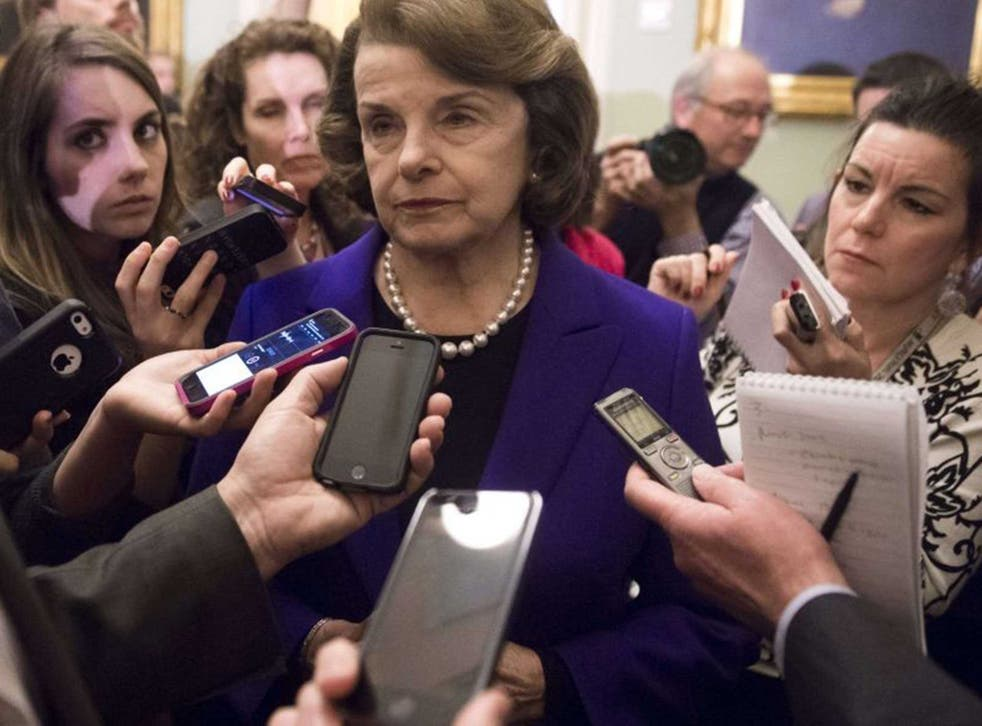 Ms Feinstein is a leading Democrat in the Senate