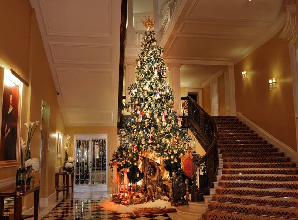 Claridge's Christmas tree