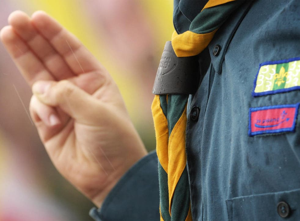 The Scout Association said it was 'deeply sorry for anybody hurt by the actions of abusers'