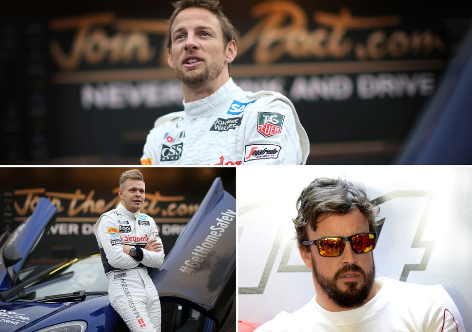 4a6daf5e5d9 Jenson Button  McLaren set to partner Button with Fernando Alonso in ...
