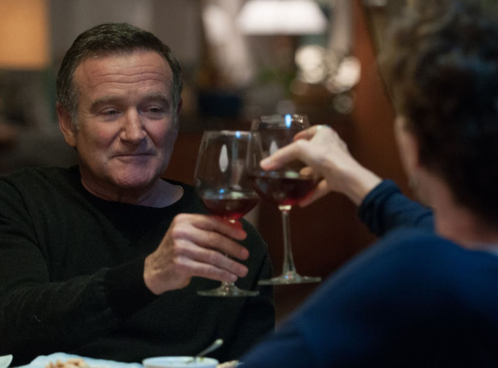 Robin Williams gives a poignant performance in Face of Love
