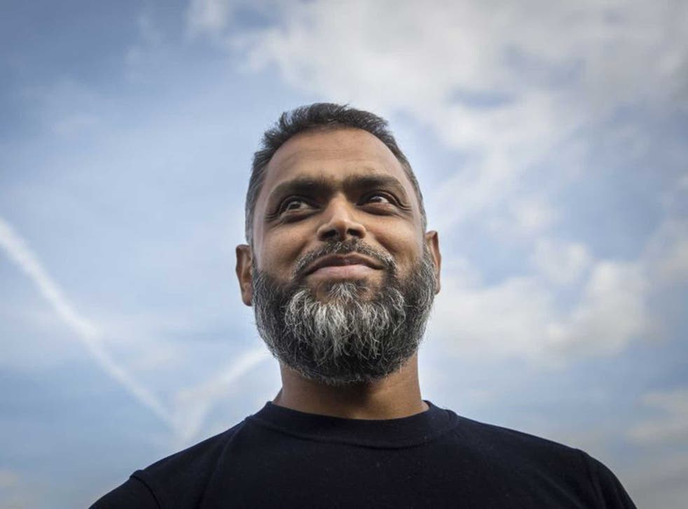 Moazzam Begg leaves Belmarsh prison in October after seven terrorism-related charges against him were dropped by the CPS