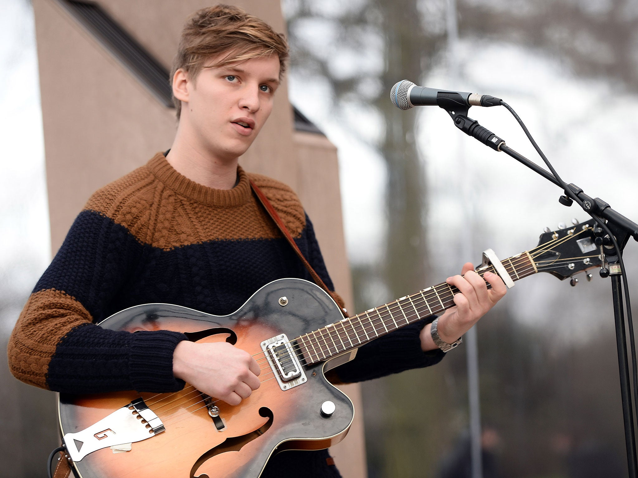 CHOOSE YOUR SIZE George Ezra Poster Budapest Wanted on Voyage Quality FREE P+P