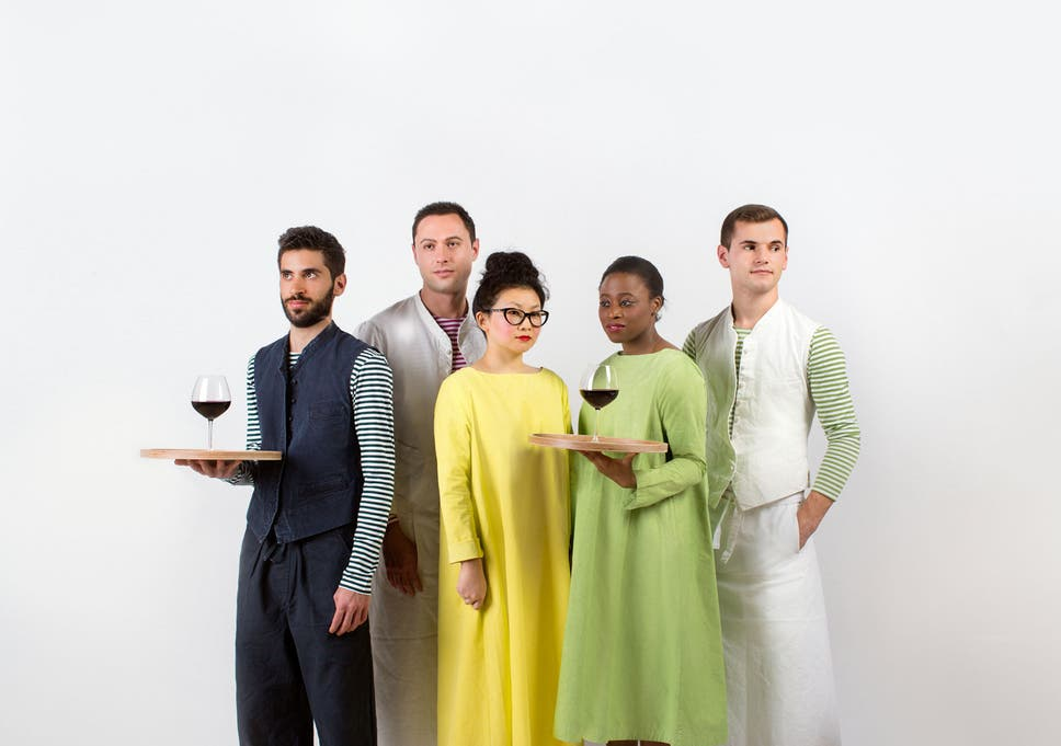 875b6ddf580 Meet Britain's best dressed waiters: The most stylish people in your  favourite restaurant are taking your order