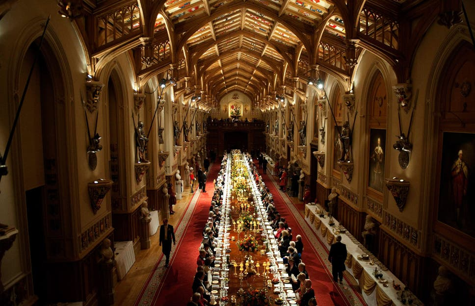 The anatomy of a state banquet: A chef reveals what the Queen has ...
