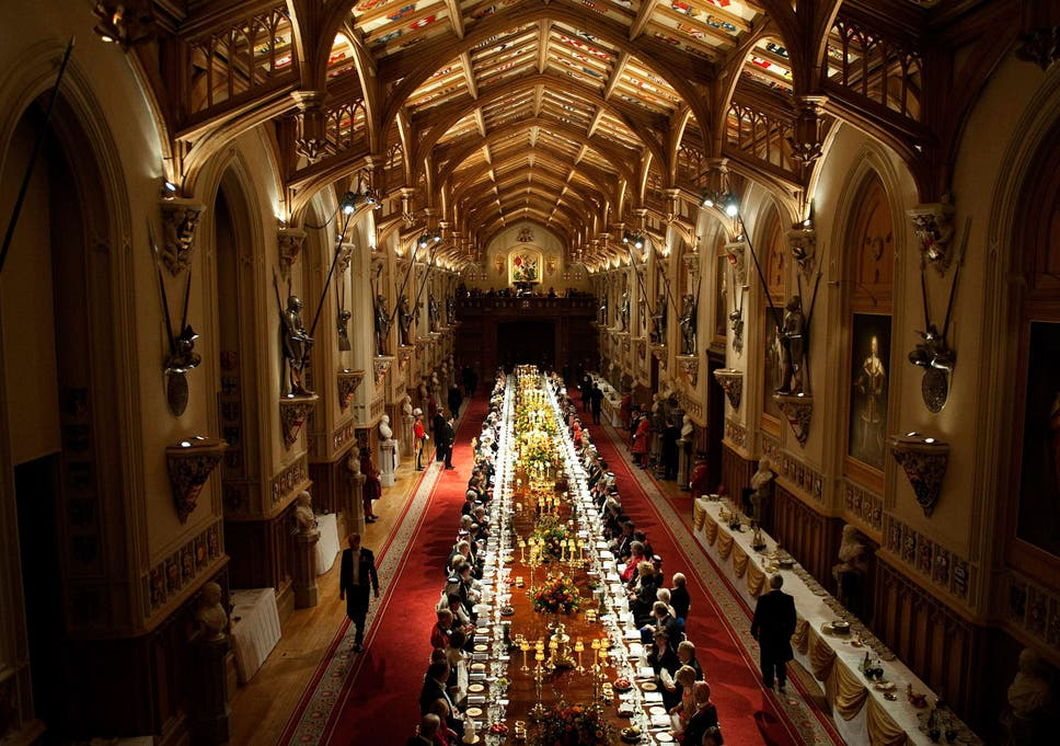 The Anatomy Of A State Banquet A Chef Reveals What The Queen Has