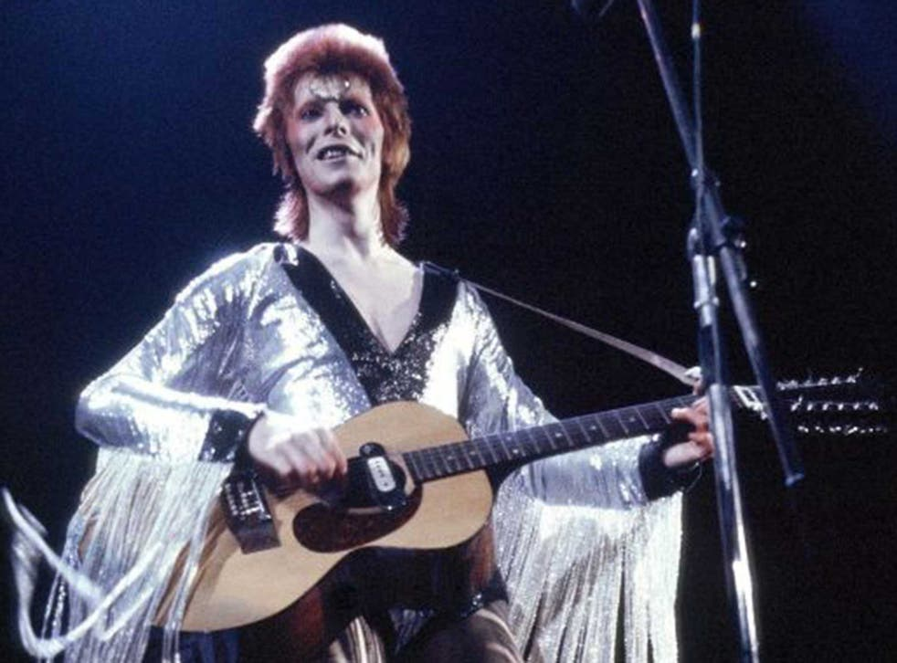 David Bowie played Earls Court during his Ziggy Stardust tour of 1973 – though the gig did not end well