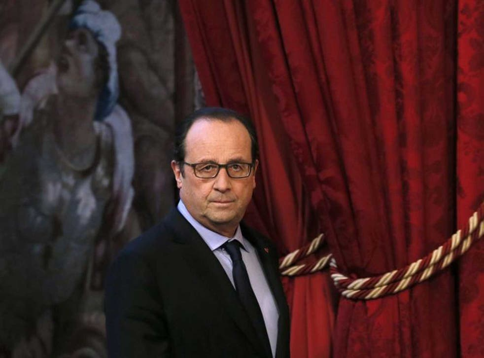 """President Hollande said that the final text should be """"balanced and reasonable"""""""