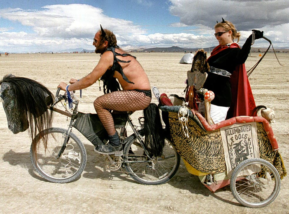 Devotees of the Burning Man festival may find the vibe and heat of Doha 2019 to their taste