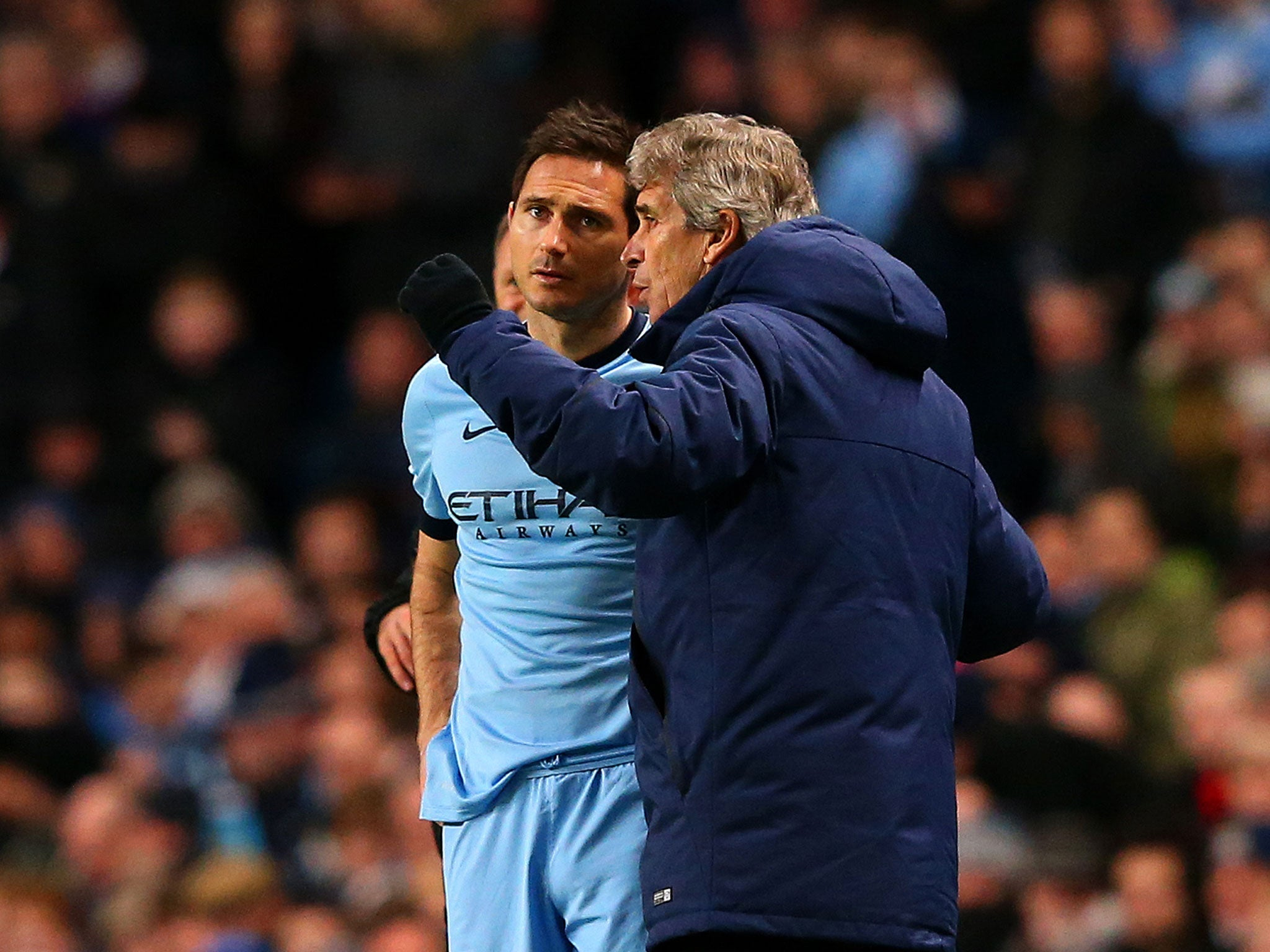 Frank Lampard unhappy at damage to his reputation after Manchester