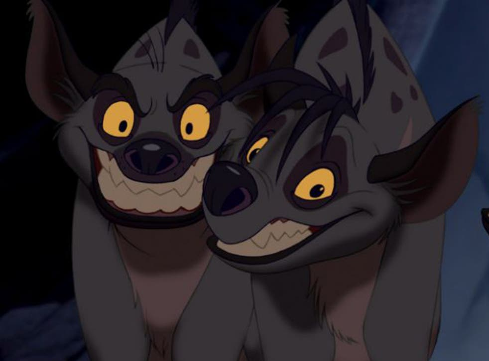 Hyenas in The Lion King
