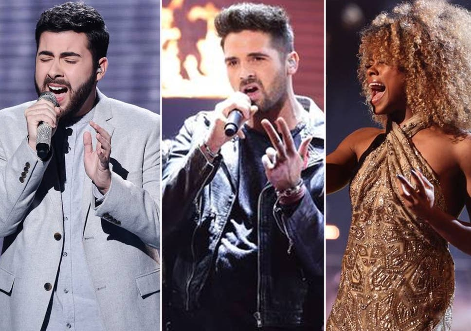 X Factor Final 2014 Fleur East And Ben Haenow Through As Andrea