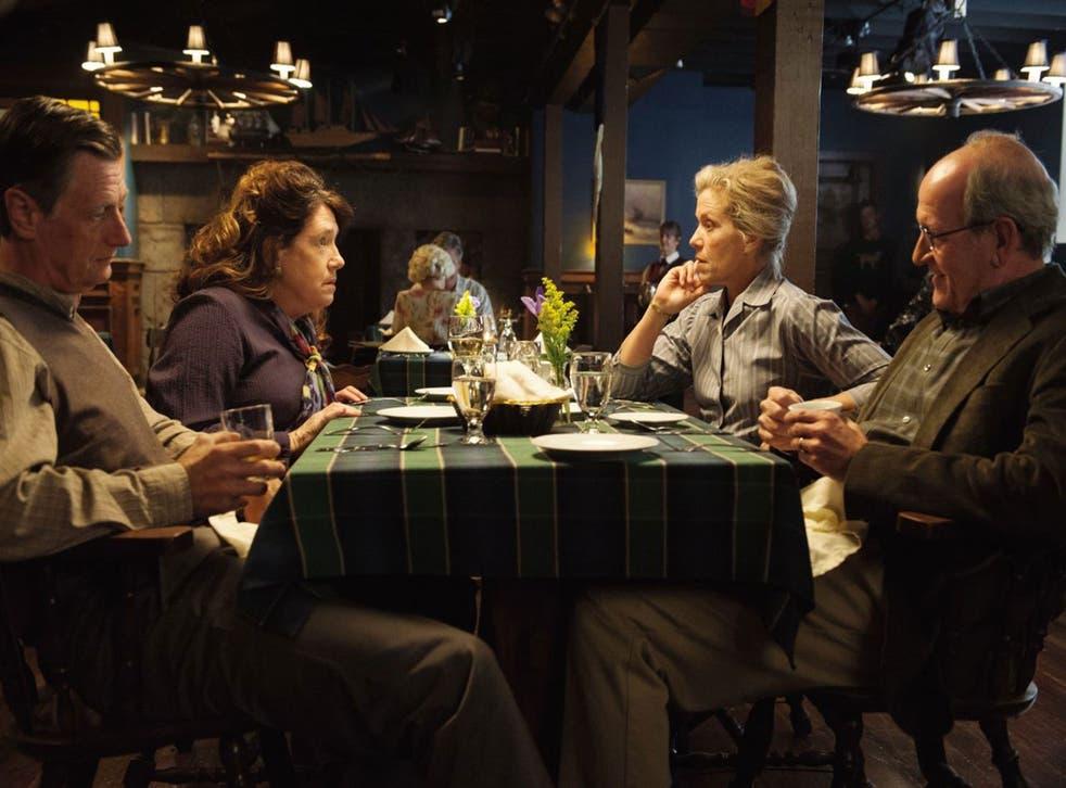This is New England: Ken Cheeseman, Ann Dowd, Frances McDormand and Richard Jenkins in Olive Kitteridge