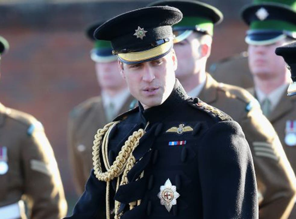 Prince William called on the public to support the appeal