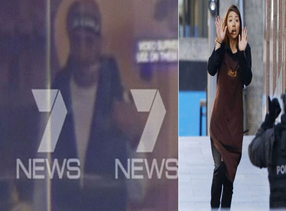 The gunman is demanding to meet with Australian PM Tony Abbott