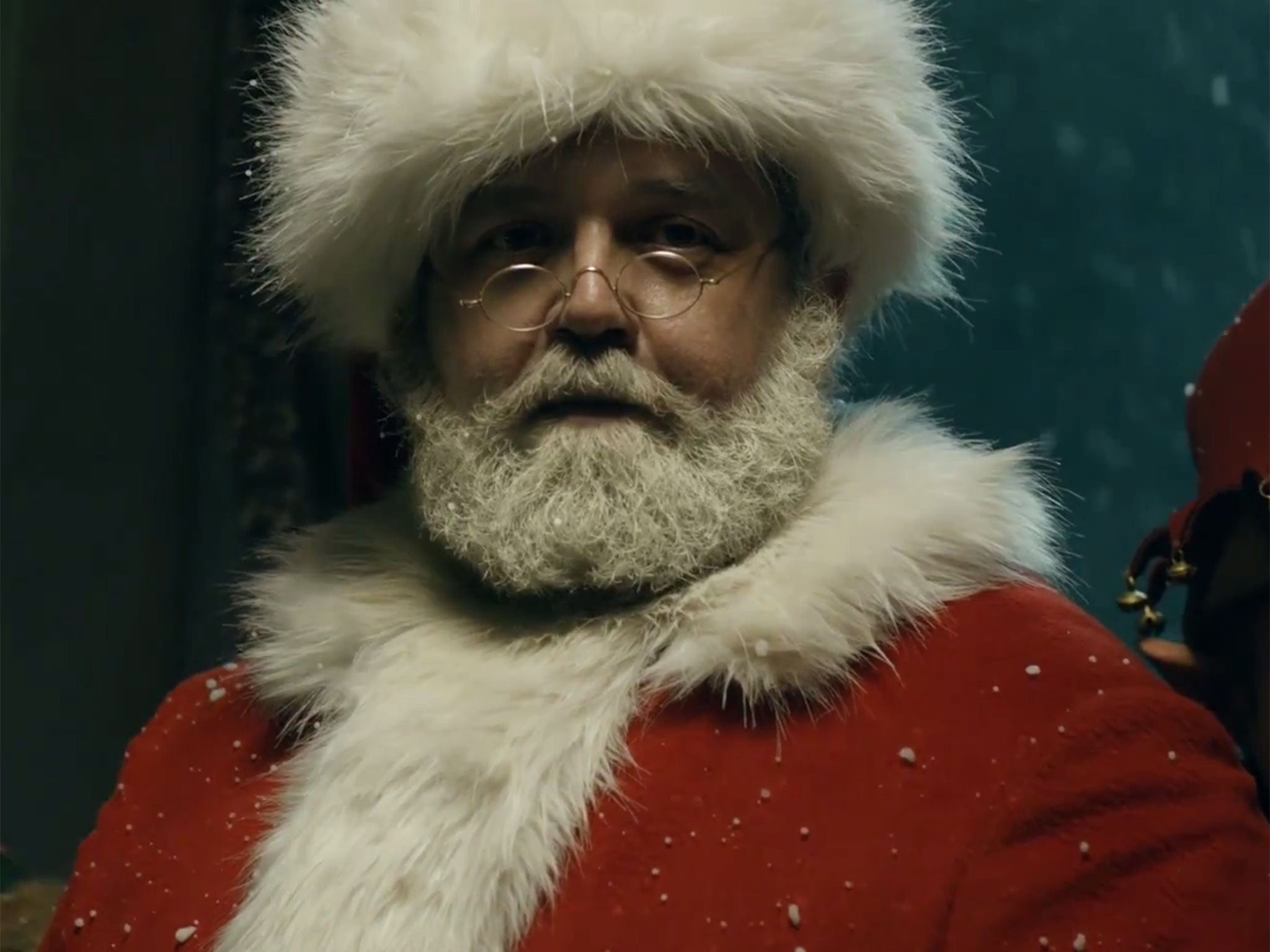 Doctor Who Christmas special: Nick Frost joins Peter Capaldi and Jenna Coleman as badass Santa in new teaser clip